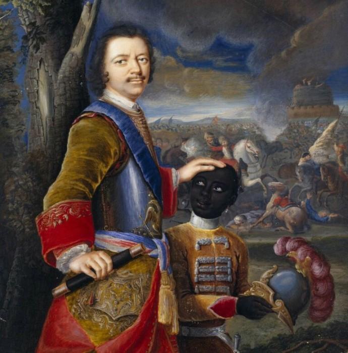Портрет царя Петра I. Густав фон Мардефельд, 1707 год.   Фото: it.pinterest.com.