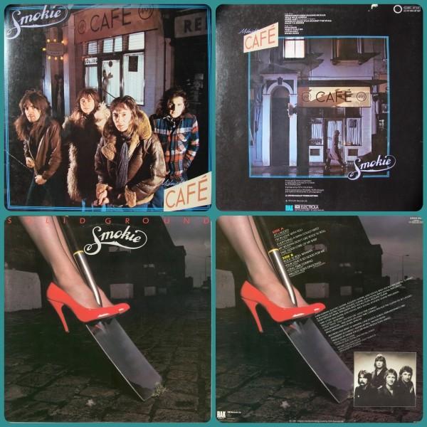 Smokie - (2CD) Midnight Cafe (1976); Solid Ground (1981)